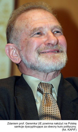 żyd polonofob Geremek