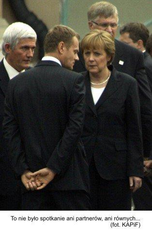germanofil i agent pruski Tusk